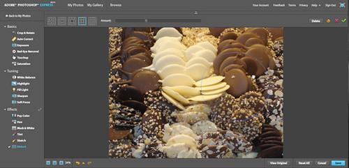 interfaz photoshop express