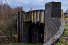 Mill Lane Railway Bridge, Mill Lane, Walsall 04/04/2008 (Gary S. Crutchley) Tags: world bridge black mill train war rivets country railway lane ww2 second locomotive walsall midlands blackcountry