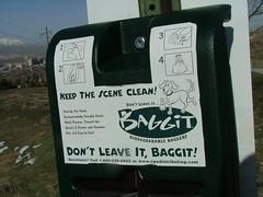 Don't leave it, baggit!