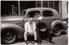 Dad & Grampa, 1945