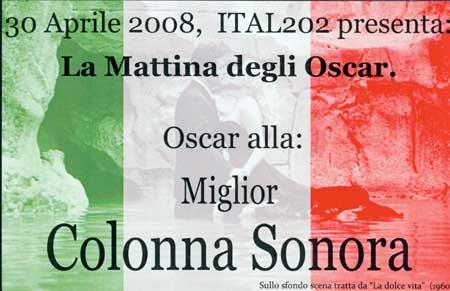 Image of Oscar card for Sonnorra