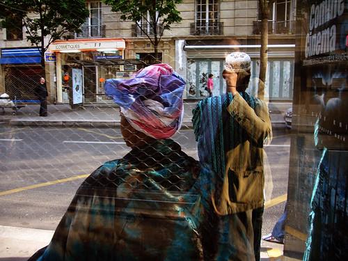 Paris, abribus rue Ordener
