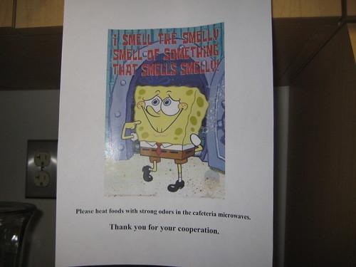 Spongebob takes a stand