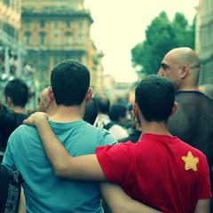 two (bryenh) Tags: gay rome roma nikon m rights gaypride orgoglio diritti d40
