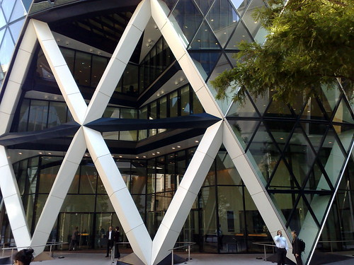The Gherkin Entrance