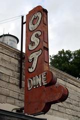 ost restaurant sign