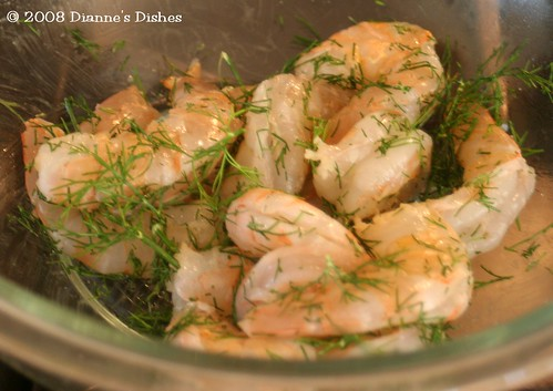 Grilled Dill Shrimp: Ready to Grill