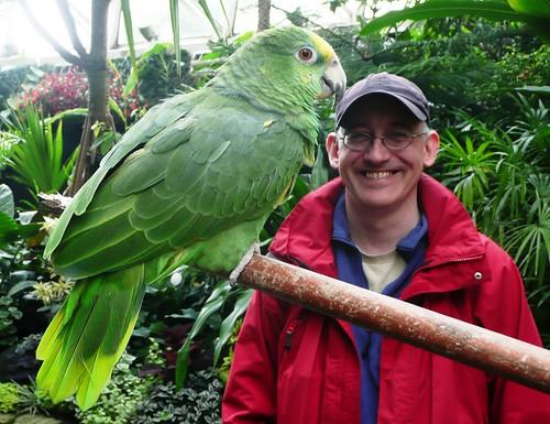 Bloedel Conservatory - Parrot & Matthew