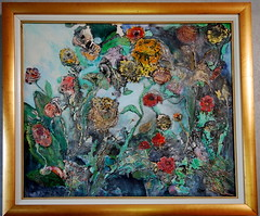 "Oil Painting- ""Flowers"" (Gary Zuker) Tags: flowers art nature painting artwork originalart oil oilpainting"