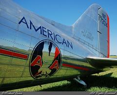 American Airlines (Flagship Detroit Foundation) Douglas DC-3-178 (NC17334) (Michael Davis Photography) Tags: airplane photography airport aviation flight douglas americanairlines dc3 aa shelbyville douglasdc3 flagshipdetroit flagshipdetroitfoundation nc17334 airportramp ksyi americanflagship