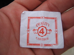Quality Control 4