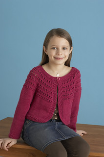 Fresh-Picked Color 3/4-Sleeve Cardigan pattern by Sarah Hoadley