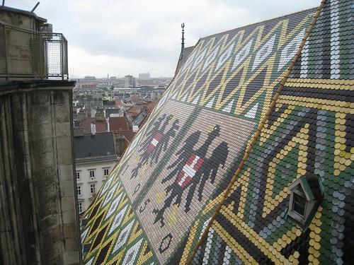 Mosaikdach Stephansdom