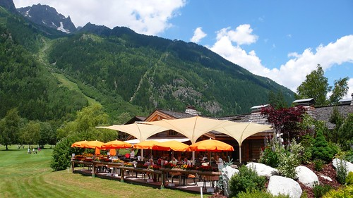 Chamonix Golf Course restaurant