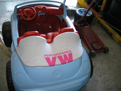 Modified Power Wheels Argo Power Wheel Aka Barbie Tank