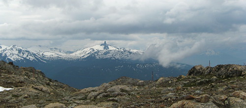 The View from Whistler Mountain