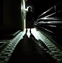 Blinding Light (Nika Fadul) Tags: light man standing dark way fear ufu duetos mnicafadul nikafadul