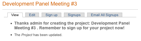 Prompt to sign up when adding project - July 14