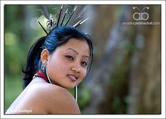 Jungle Girl (Arif Siddiqui) Tags: travel india girl beauty rain forest young tribes ethnic northeast cultures arif arunachal tribals siddiqui arunachalpradesh nocte northeastindia arunachalpradeshindia arunachali