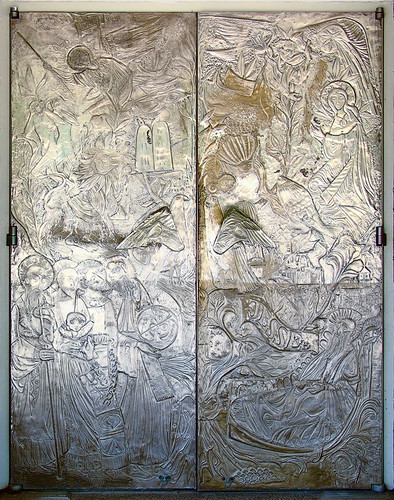 Mary's Chapel, Shrine of Our Lady of the Snows, in Belleville, Illinois, USA - Old Testament door