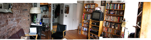 Living room panorama 2