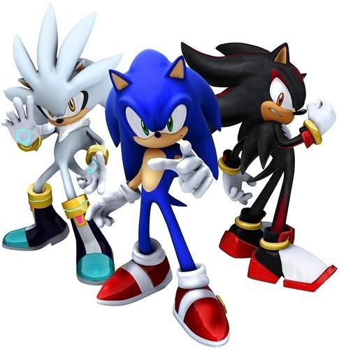 Sonic & Shadow & Silver the Hedgehog