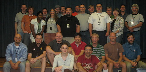 Geeks and God Conference Drupal Day Crowd
