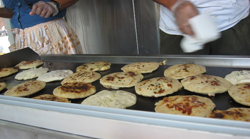 Pupusa Truck, Red Hook, Brooklyn
