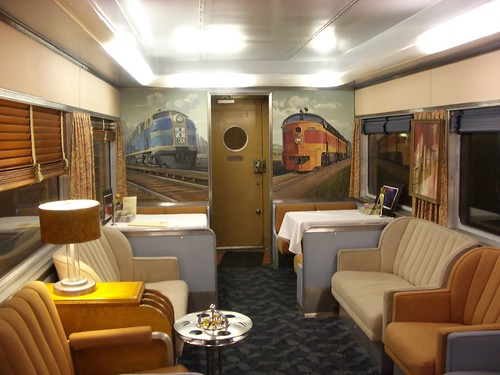 Private Rail Cars Cool And Retro Private Rail Car Used For