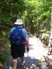 Dad Hiking