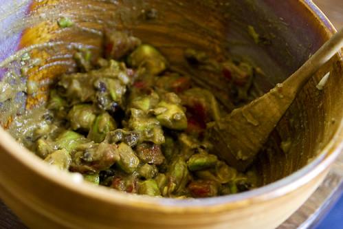 Lee Anne made super chunky guacamole.. ;)