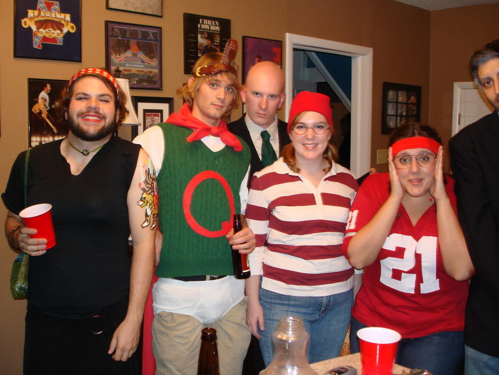 icybrian tags party halloween costume brian doug patrick lindsay melissa - Little Miss Sunshine Halloween Costume