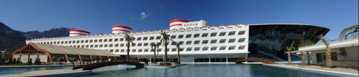 يعتبر هذا الفندق التركي الأفخم والأغلى في تركيا فهو