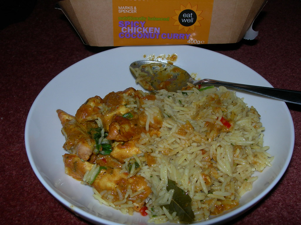 Spicy Chicken Coconut Curry