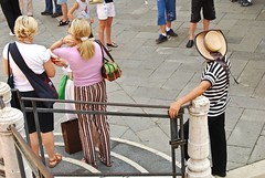 Gondolier Waiting, Venice
