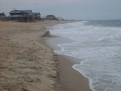 No one else had the guts to hit the water (Tappel) Tags: obx 08