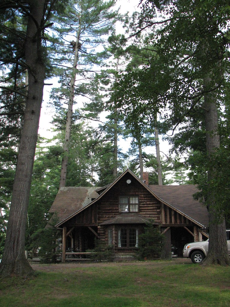 The eagle's nest above our Adirondack camp
