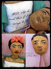 mosaic of Frida doll and Diego Mask (du_buh_du_designs) Tags: buh frida du artdolls fridakahlo designs artdoll dollmaking dollartist fridadoll dubuhdudesigns christinealvarado adoteam fridadolls khalofrida artdu fridaart contemporaryartdoll artdollmaker