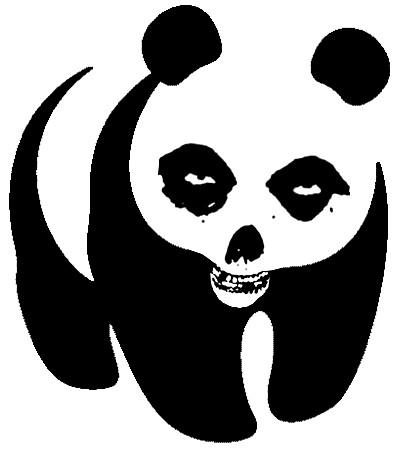Misfits Panda (Glenn Pandzig!) for Erika