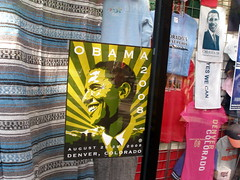 OBAMA IN THE WINDOW