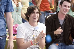 "Tyson Ritter and Colin Hanks in ""The House Bunny"" (beastandbean) Tags: bunny movies sorority leadsinger emmastone allamericanrejects annafaris tysonritter colinhanks rumerwillis katherinemcphee comedies katdennings funnymovies thehousebunny"