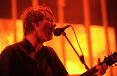 Radiohead at Santa Barbara Bowl 08/28/08 (Clap Your Mirror Say Yeah) Tags: losangeles thomyorke radiohead philselway edobrien santabarbarabowl livemusicband concertshowgig inrainbowstour august082008 colinjonnygreenwood