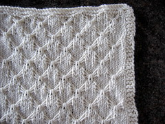 smocked dishcloth