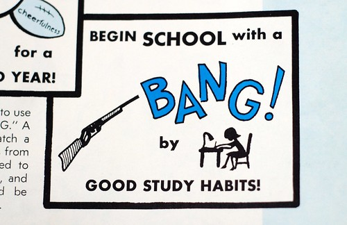 Begin School With A Bang!