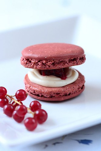 Red Berry Macarons