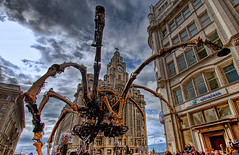 La Machine - Day 4 (mobilevirgin) Tags: street art liverpool canon spider hdr 30d capitalofculture lamachine laprincesse