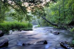 Morning Myst (Karnevil) Tags: morning trees usa nature river nc nikon northcarolina hdr d300 morningglow 50photographers fallsoftheneuse rsgsummerproject2008