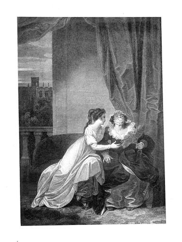 11- Romeo y Julieta- Act II Esc V- Una habitacion en la casa de los Capuletos- Robert Smirke