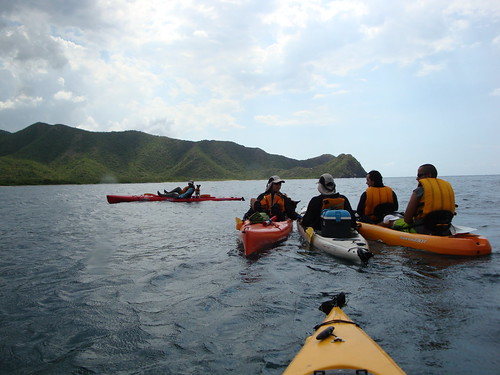 Kayak travesia, Cienaga de ocuamre, Venezuela