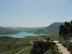 Pantano desde Zahara de la Sierra